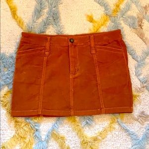 Free people Corduroy like skirt